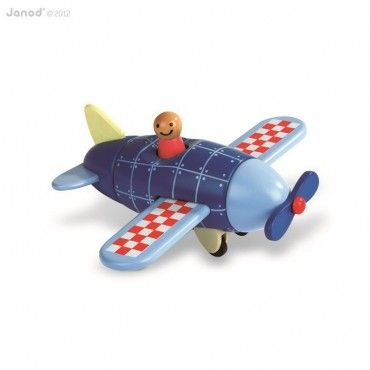 Magnetic plane Janod wooden