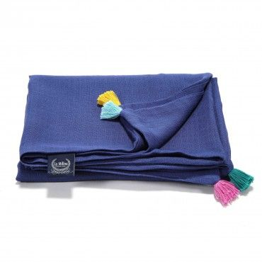 """FIRST TOUCH muslin blanket """"XL"""" LA Millou"""