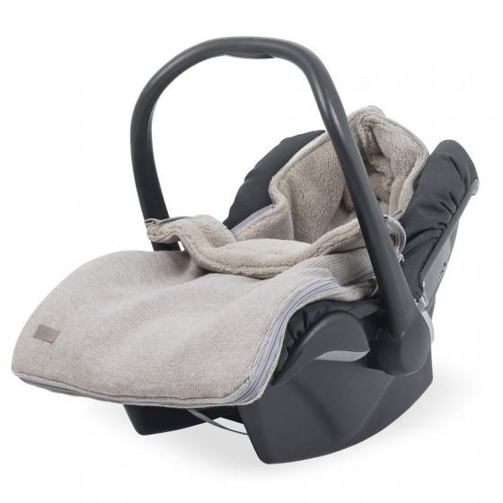 Sleeping bag for winter Jollein seat / gondola Natural Beige Knit 0-10 months