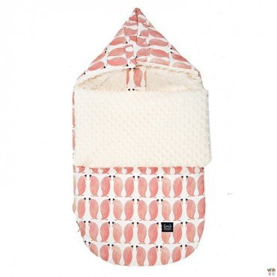 LA Millou stroller sleeping bag BAG PREMIUM S PENGUIN PEPE ECRU