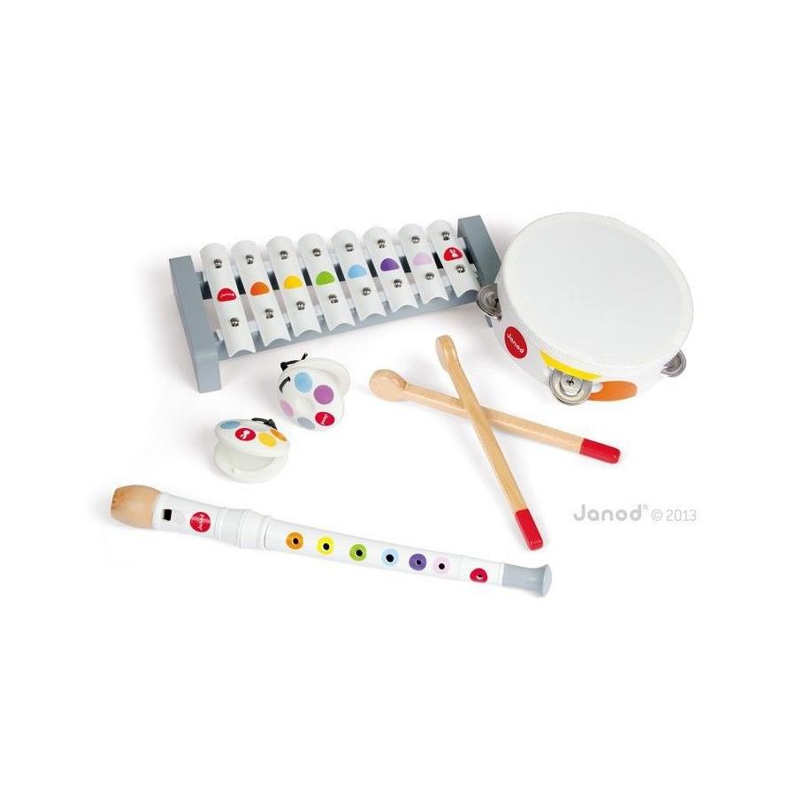 Zestaw instrumentów Confetti, Janod