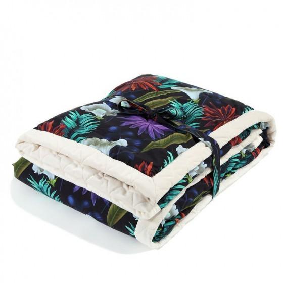 LA Millou KOC, bedspread 140x200cm BOTANIC BARDEN RAFAELLO VELVET COLLECTION