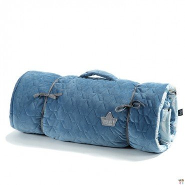 LA MILLOU NAP MAT CANDY CAPTAIN ADVENTURE DENIM VELVET COLLECTION