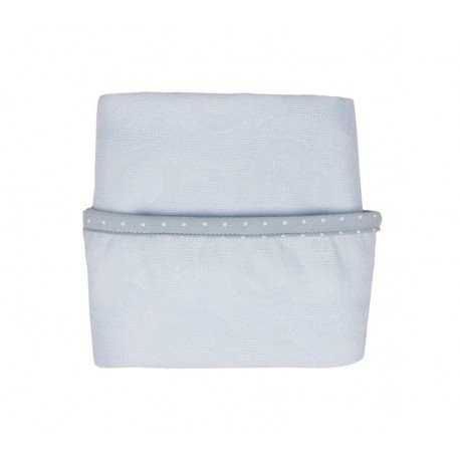 LULLALOVE blanket OTULACZ JUNIOR BLUE BAMBOO