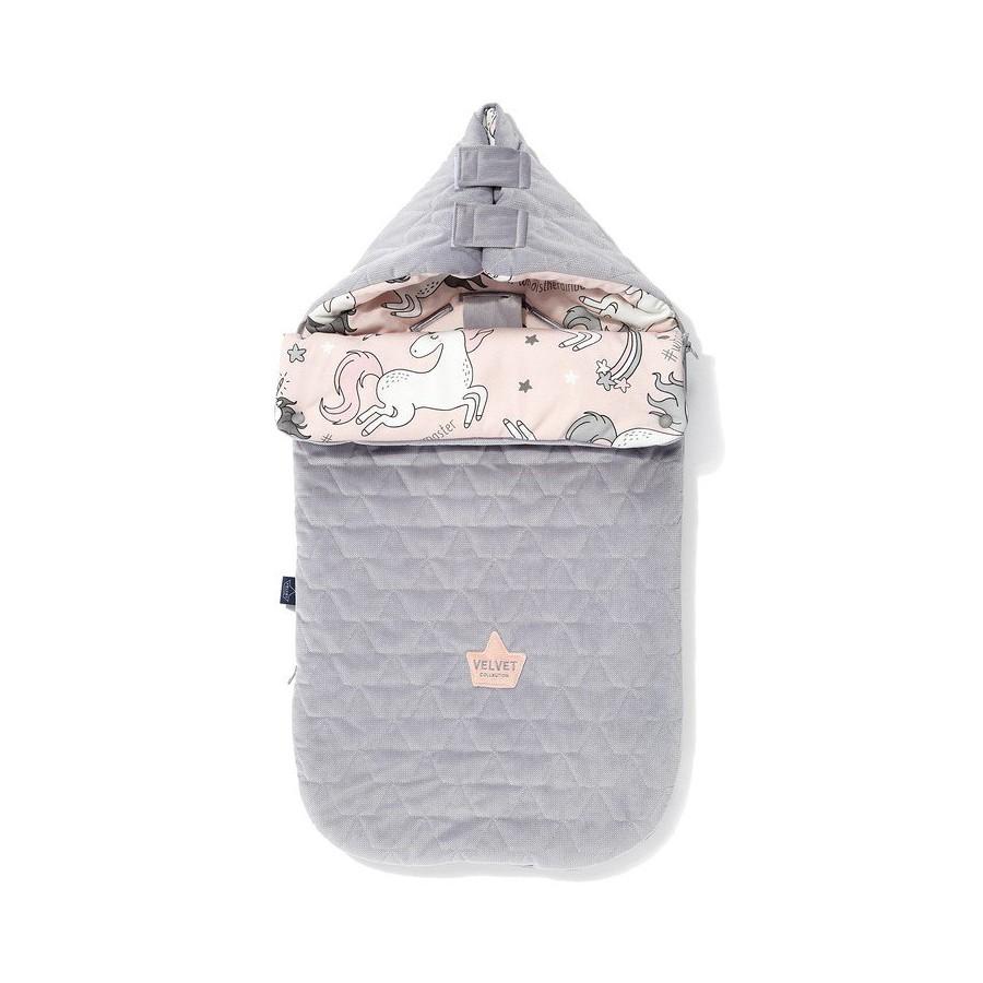 LA Millou VELVET BAG PREMIUM COLLECTION stroller sleeping bag S