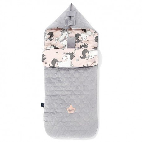 LA Millou VELVET BAG PREMIUM COLLECTION stroller sleeping bag M