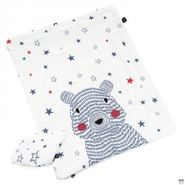 LA MILLOU KOMPLET POŚCIELI L GALAXY BEAR BRIGHT GALAXY STAR