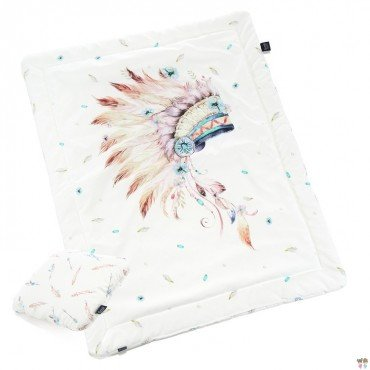 "La Millou BEDDING WITH FILLING JUNIOR ""M""- NAVAHO QUARTZ - NAVAHO ARROWS"