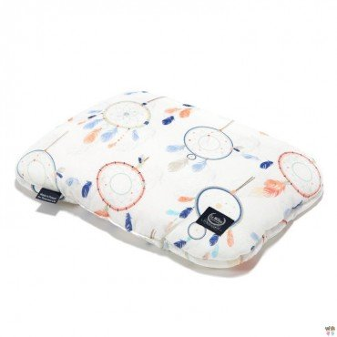 LA MILLOU BABY BAMBOO PILLOW 20x30cm DREAMCATCHER WHITE