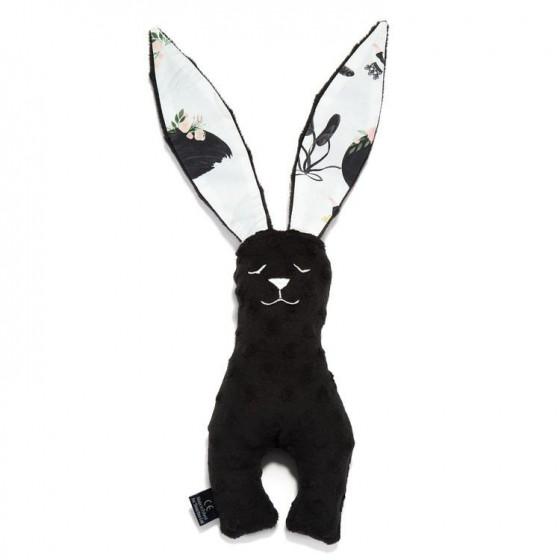 LA MILLOU TOY BUNNY 23cm BLACK MOONLIGHT SWAN