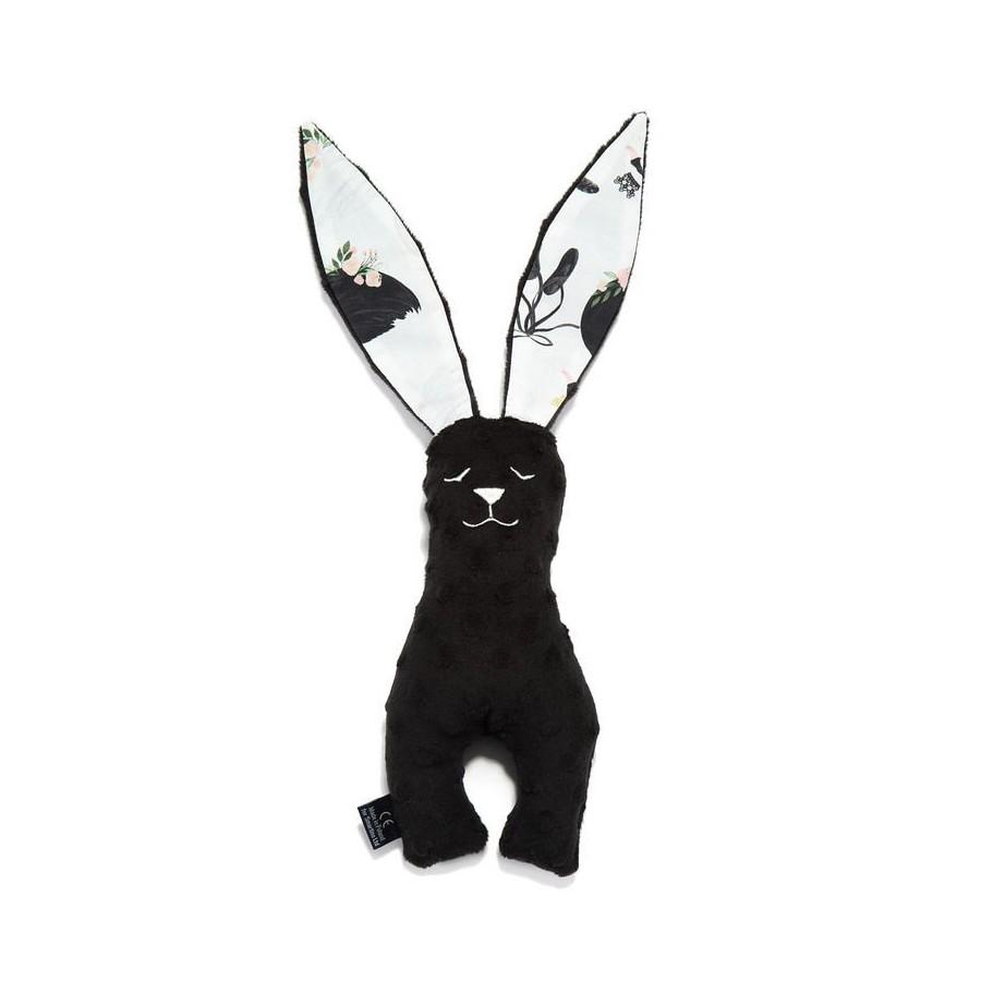 LA MILLOU ZABAWKA KRÓLIK 23cm BLACK MOONLIGHT SWAN