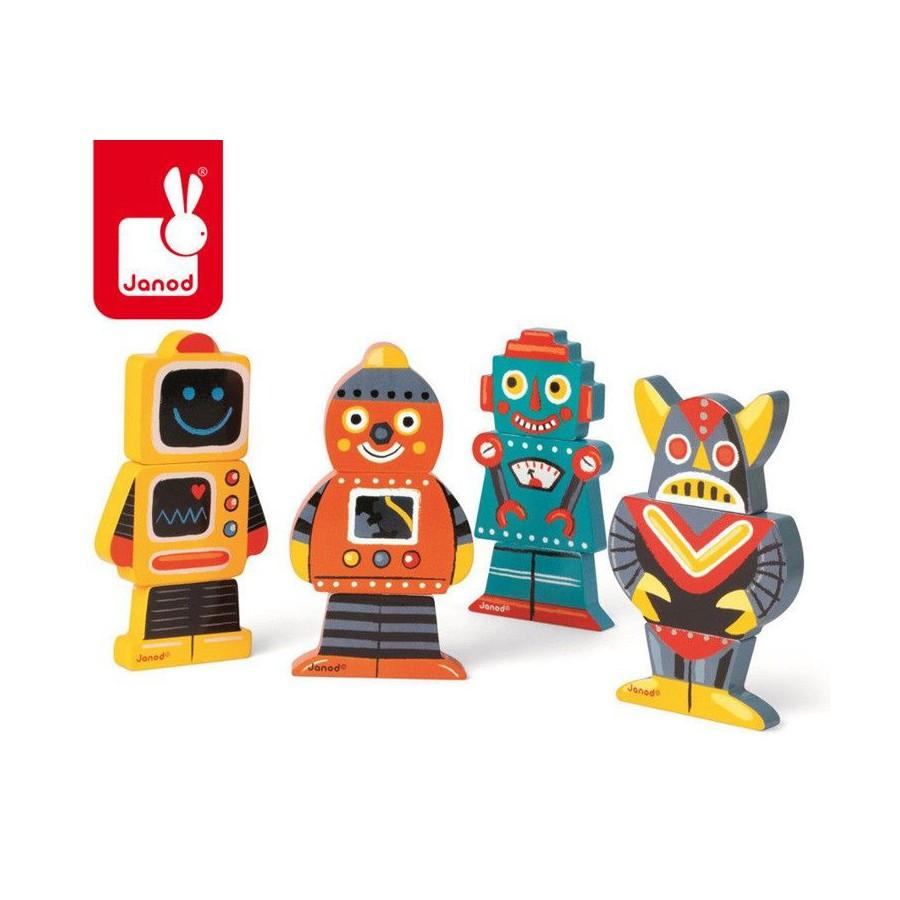 JANOD blocks Magnetic 3D Robots