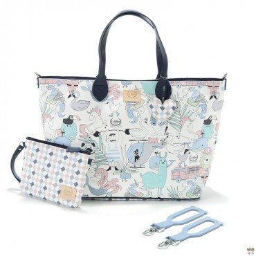 LA MILLOU FEERIA BY KATARZYNA ZIELIŃSKA LARGE BAG WITH A CLUTH LA MILLOU FAMILY VOL.II PREMIUM