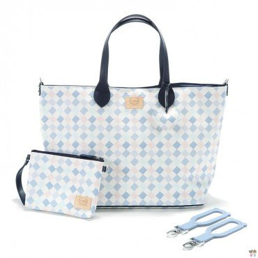 LA MILLOU FEERIA BY KATARZYNA ZIELIŃSKA LARGE BAG WITH A CLUTH LA MILLOU FAMILY CHESSBOARD PREMIUM
