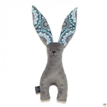 LA Millou 23cm GRAY RABBIT TOY MOSAIC