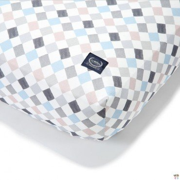 LA MILLOU BEDSHEET GOOD NIGHT 70x140 cm LA MILLOU FAMILY CHESSBOARD VOL.II