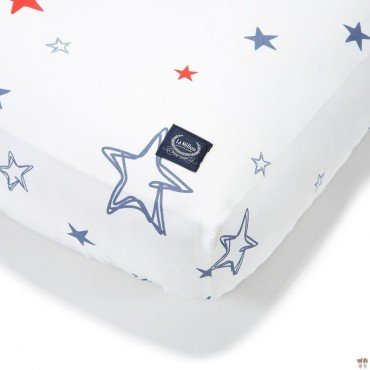 LA MILLOU BEDSHEET GOOD NIGHT 70x140 cm GALAXY STAR BRIGHT