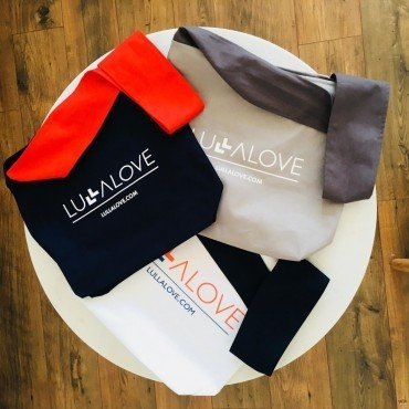 LULLALOVE NEW LULLABAG TORBA GRANAT