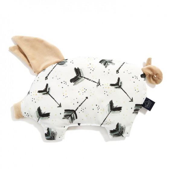 LA MILLOU PODUSIA SLEEPY PIG BOHO ROYAL ARROWS VANILLA VELVET COLLECTION