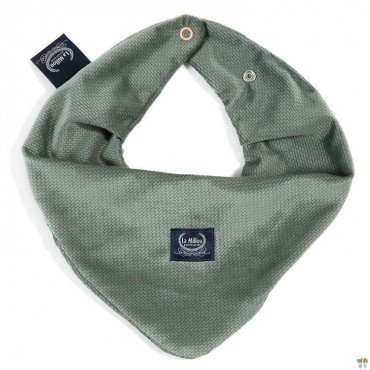 LA MILLOU WARM SCARF VELVET COLLECTION KHAKI