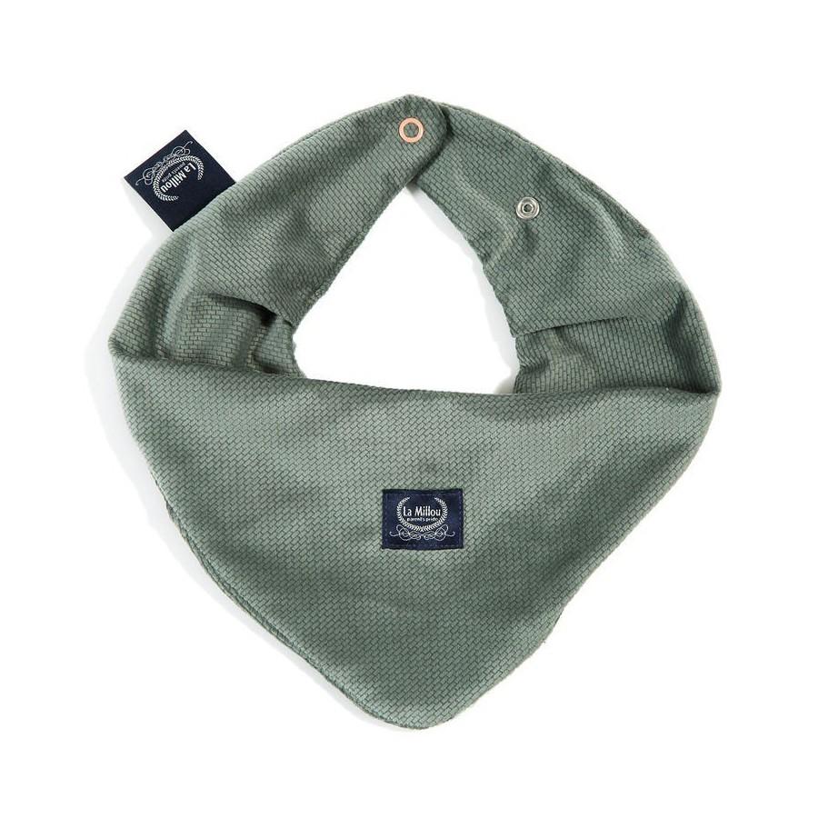LA Millou VELVET COLLECTION very soft scarf KHAKI