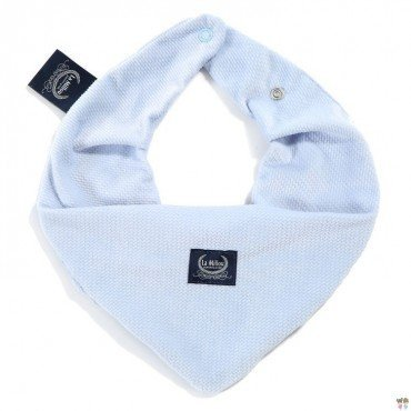 LA MILLOU WARM SCARF VELVET COLLECTION DUSTY BLUE