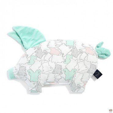 LA MILLOU PODUSIA SLEEPY PIG ILOVEPANDA PURE MINT VELVET COLLECTION BY MARTA ŻMUDA-TRZEBIATOWSKA