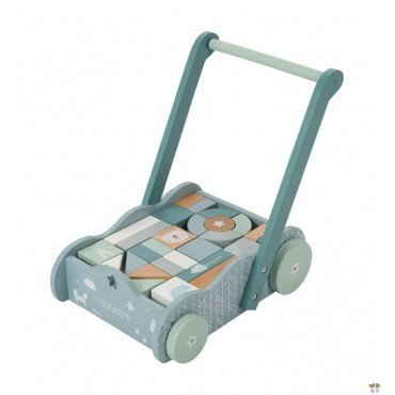 LITTLE DUTCH TRUCK WITH BLUE blocks