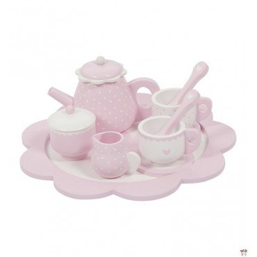 LITTLE DUTCH TEA SET Róż