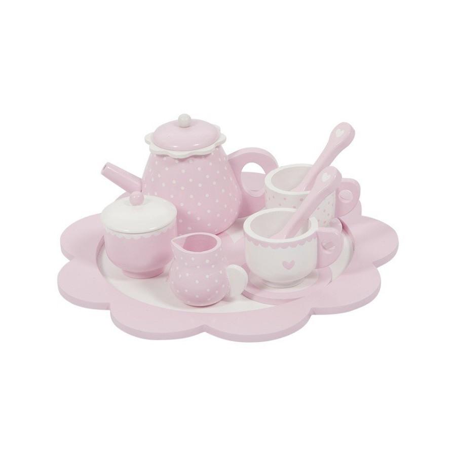 LITTLE DUTCH TEA SET Róż
