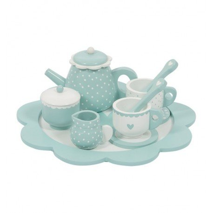 LITTLE DUTCH TEA SET MIĘTA