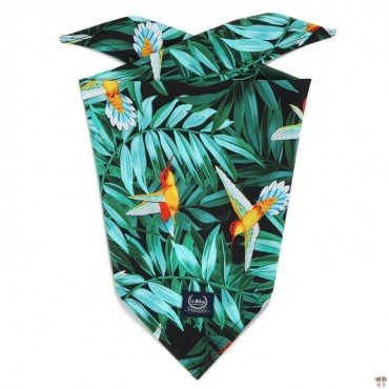 LA Millou TRIANGULAR handkerchief COLIBRI