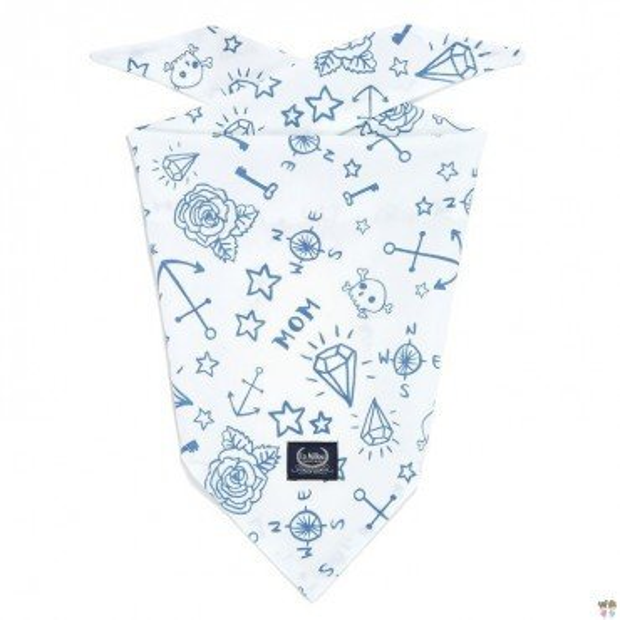 LA Millou TRIANGULAR handkerchief BARBER SAILOR TATTOO