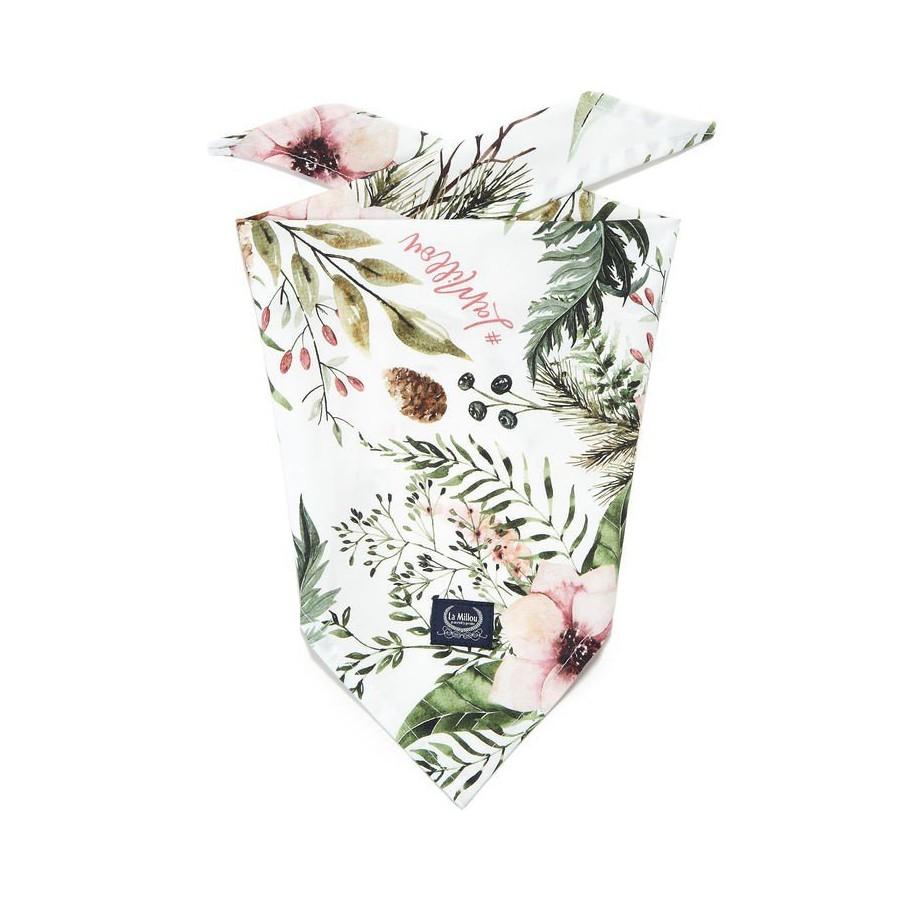 LA Millou TRIANGULAR handkerchief WILD BLOSSOM