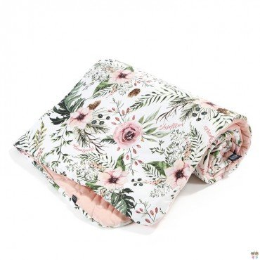 LA MILLOU KOCYK ŚREDNIAKA SLIM WILD BLOSSOM POWDER PINK VELVET COLLECTION