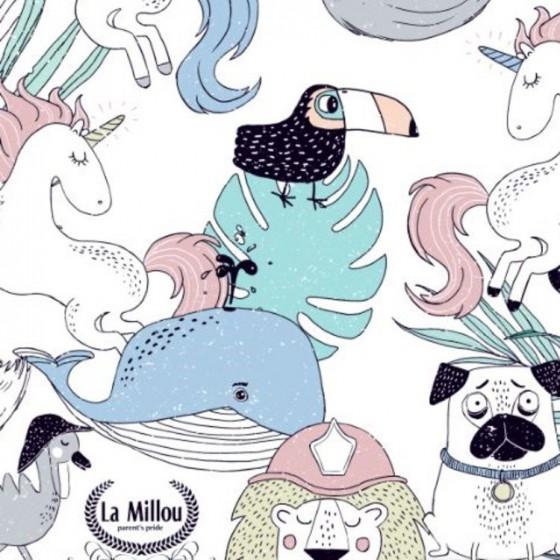 LA Millou TRAVEL BAG COMPACT SIZE LA Millou FAMILY Vol.II