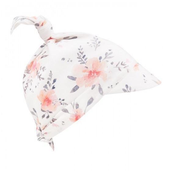Samiboo - Bambusowa chustka z daszkiem kwiaty
