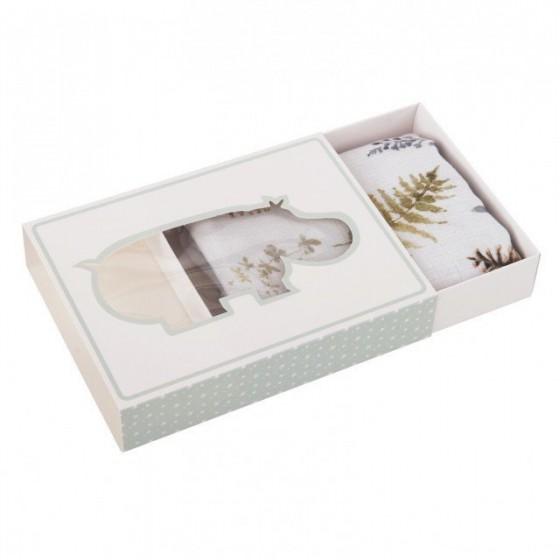 Samiboo - Diaper / otulacz / muslin blanket bamboo silver ion loader 100x100 cm