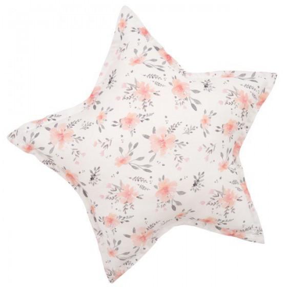 Samiboo - Poduszka gwiazdka kwiaty