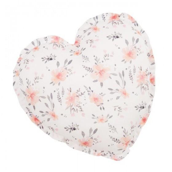 Samiboo - Poduszka serce kwiaty