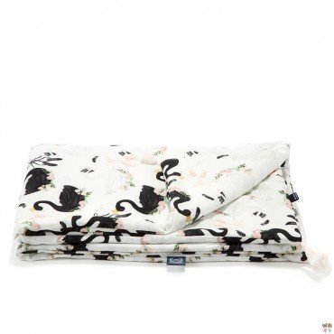LA MILLOU BAMBOO BEDDING MEDIUM SIZE MOONLIGHT SWAN
