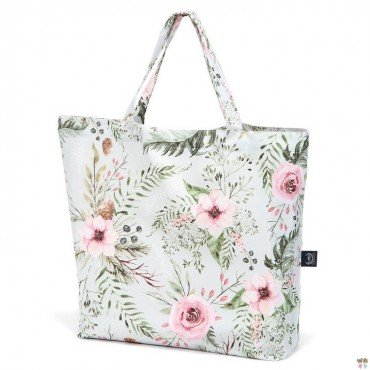 LA MILLOU SHOPPER BAG WILD BLOSSOM MINT