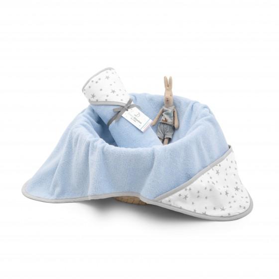 ColorStories - Hooded Towel - Blue MilkyWay