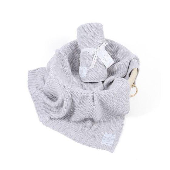 ColorStories - Blanket CottonClassic S - light gray