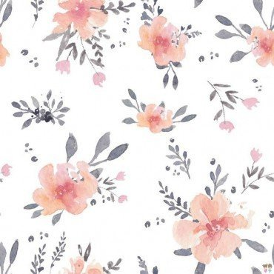 Samiboo - Pikowana kosmetyczka kwiaty IN BLOOM
