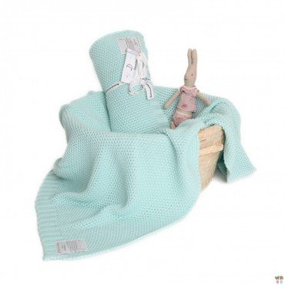 ColorStories - Blanket CottonClassic S - mint