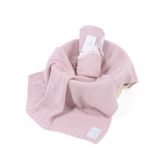 ColorStories - Blanket CottonClassic M - hazy roses