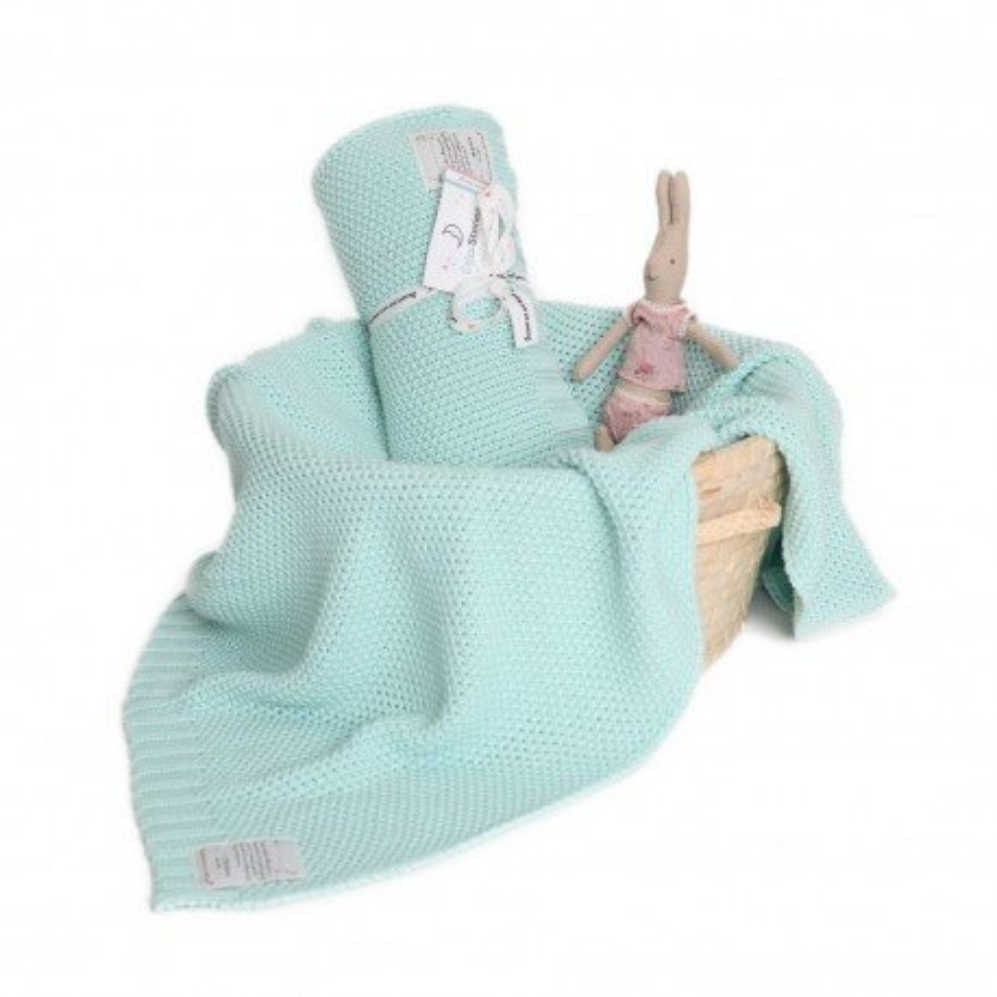 ColorStories - Blanket CottonClassic M - mint