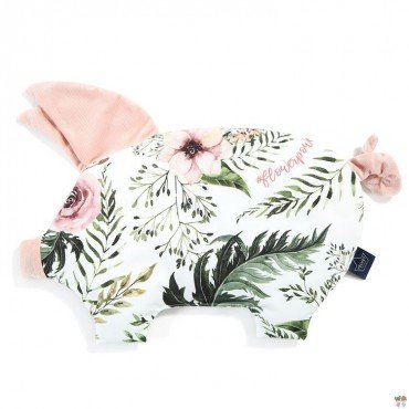 LA MILLOU PODUSIA SLEEPY PIG WILD BLOSSOM POWDER PINK VELVET COLLECTION