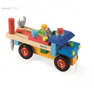 JANOD truck to make large wooden